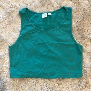 Seafoam green size L crop top from BP Nordstrom
